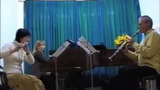 7X7 לחליל צד, קלרינט ופסנתר