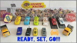 Toy Car Parade! Guess colour game! (BTR#8)