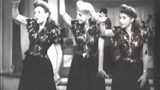 "The Andrews Sisters ""Sing a Tropical Song"""