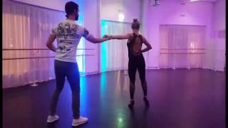 Armanch and Ewa urban kizomba