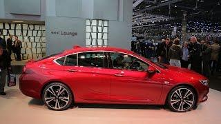 2017 Opel Insignia live in Geneva \ 2017 Geneva Motor Show