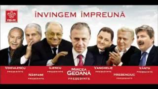 Muzica manele cu Mircea Geoana PSD de ce ma minti? canta manele