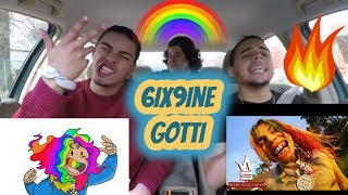 "6IX9INE ""Gotti"" (REACTION REVIEW) TEKASHI"