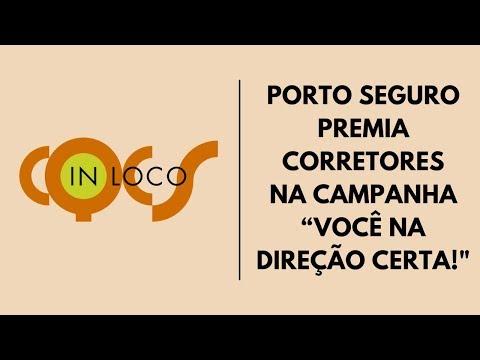 """Imagem post: Porto Seguro premia Corretores na campanha """"Você na direção certa!"""""""