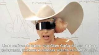 MAC Viva Glam - Message from Lady GaGa, February 22 Legendado PT-BR