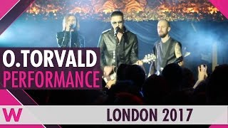 "O.Torvald ""Time"" (Ukraine 2017) LIVE @ London Eurovision Party 2017"
