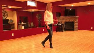 Line Dance: Cajun Cross