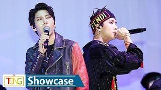 VIXX LR(빅스LR) 'Whisper'(위스퍼) Showcase Stage (쇼케이스, LEO, 레오, Ravi, 라비)