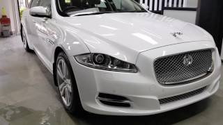 Jaguar XJL after ceramic coating @ MOTOLOGY - An Automotive Detailing Studio..!!