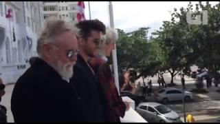 Queen & Adam Lambert at Copacabana Palace - Rock in Rio 2015
