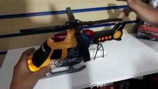 Helicóptero De Resgate Com Som e Luz - DTC