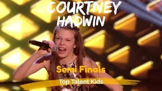 "🌟 COURTNEY HADWIN 🌟 ""I FEEL GOOD"" SEMI FINAL THE VOICE KIDS UK 2017"