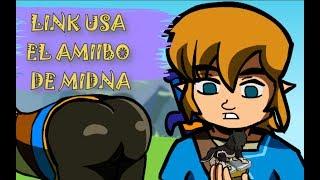 Zelda BOTW parodia - Link usa el amiibo de Midna