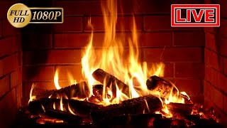 ✰ NEVER STOPPING ✰ Live Fireplace ✰ Relaxing Fireplace Sound ✰ Romantic Lullaby ✰ Full HD