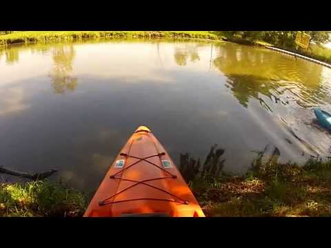 Bamba Fluid Kayak Review on Vaal River South Africa GoPro