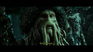 Pirates of the Caribbean DMC - Will Challenges Davy Jones to Liar's Dice Game [1080p, HD]