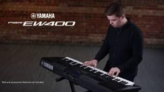 Introducing the Yamaha PSR-EW400 Performance Keyboard