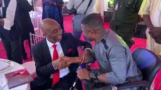 Bishop Oyedepo meets Yinka Ayefele