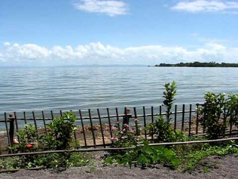Lake Nicaragua view from west shore