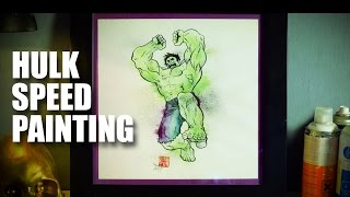 Hulk Speed Painting | Mad Stuff With Rob