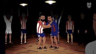 Atletico Madrid's Secret Fight Club | The Champions S2E4