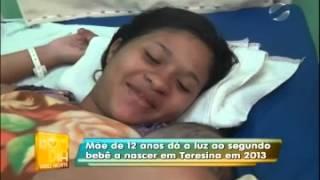 Segunda criança a nascer em 2013 é de mãe de 12 anos