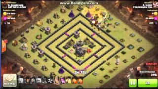 strategi vs war base muter TH 9