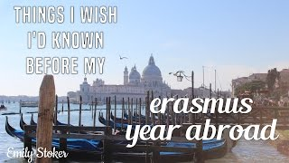 Things to Know Before Your Erasmus Year Abroad