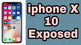 i phoneX [10] Expose.. all details..|| all details about i phoneX|| E L.M.T