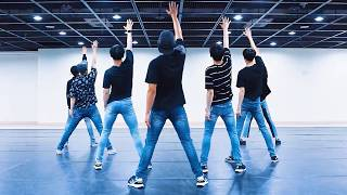 MONSTA X 'SHINE FOREVER' mirrored Dance Practice width=