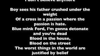 U2 - Raised By Wolves LYRICS