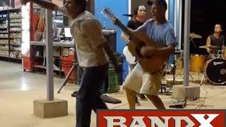 Band X - Wish You Were Here (Wilmart in Playa Grande 3-10-17)