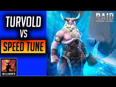 RAID: Shadow Legends | Turvold Smash Vs Speed Tuned team! This one was really tough!