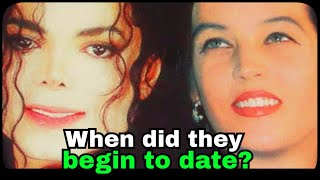 When did they begin to date...Lisa Marie Presley and Michael Jackson