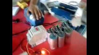 Motor trifásico como gerador de energia