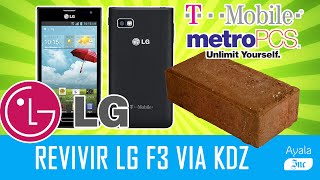 Desbrickear/Revivir LG Optimus F3 MS659 Metro PCS ,T Mobile Security Error Español - Ayala Inc