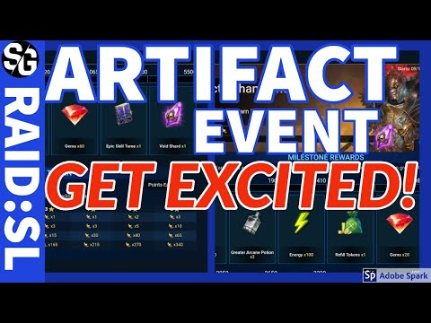 [RAID SHADOW LEGENDS] ARTIFACT EVENT GET EXCITED