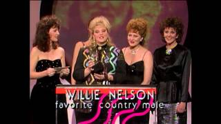 Willie Nelson Wins Country Male - AMA 1987