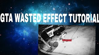 GTA WASTED EFFECT TUTORIAL ON POWER DIRECTOR 12