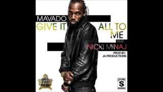 Mavado ft Nicki Minaj - Give it all to me
