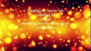 The Script  -  Millionaires  Lyric Video