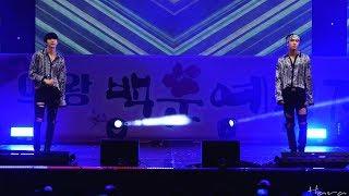 170917 VIXX LR(빅스 LR) 'Beautiful Liar' 레오 라비 4K 직캠(Fancam) - 의왕 백운 예술제 by Hara