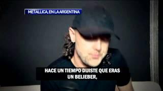 Metallica en Argentina 2014: Entrevista La Viola (HD)