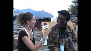 Macka B - Interview @ Chiemsee Reggae Summer 8/16/2009