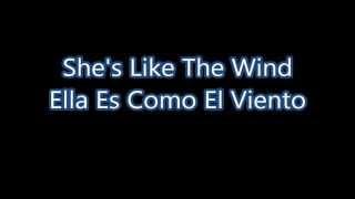 Patrick Swayze She's Like The Wind Subtítulos en español