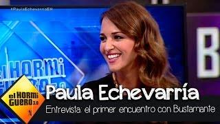 La historia de cómo se conocieron Paula Echevarría y David Bustamante - El Hormiguero 3.0