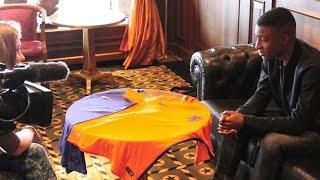 VOETBALSHOP.NL   Riechedly Bazoer's eerste indruk van het nieuwe Nike Vapor Nederlands elftal shirt