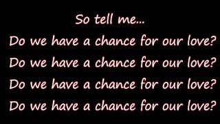 Whistle - Chance For Our Love (lyrics) 80's Throwback