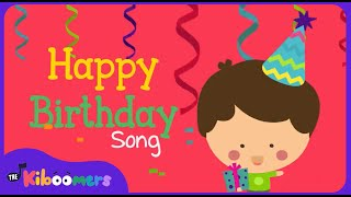 Happy Birthday Song   Happy Birthday To You Song for Kids   The Kiboomers