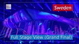 I Can't Go On - Sweden (Full Stage View) - Robin Bengtsson - Eurovision Song Contest 2017 - Final